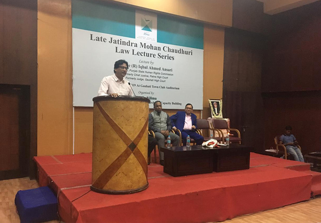 Late Jatindra Mohan Chaudhuri Law Lecture Series